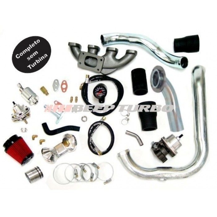 Kit turbo GM - Corsa / Montana 1.8 - 8V todos sem Turbina