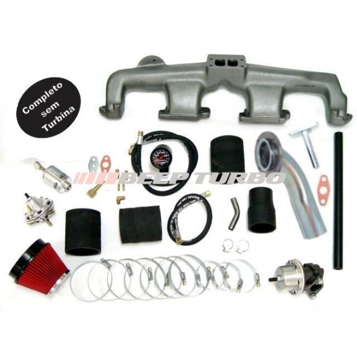 Kit turbo GM - Omega 6cc - 4.1 sem Turbina