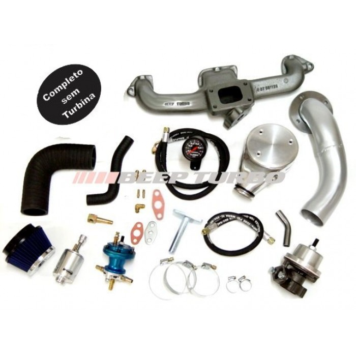 Kit turbo GM - Opala 4cc sem turbina