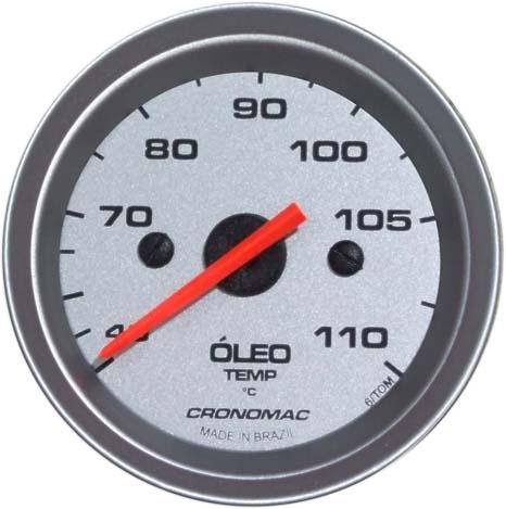 Termômetro/Óleo/Mec./52mm/Racing