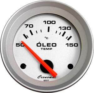 Termômetro/Óleo/52mm/Eletric/Racing