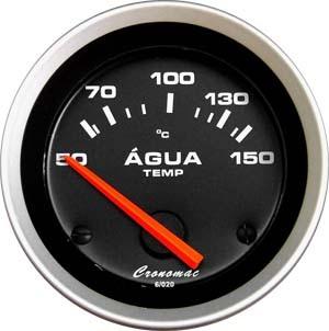 Termômetro/Àgua/52mm/Elétr./Sport