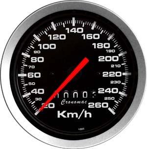 Velocímetro /100mm/260Kmh/Mec./Sport
