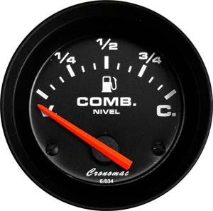 Ind. Nível Combustível/52mm/Elétr./Street