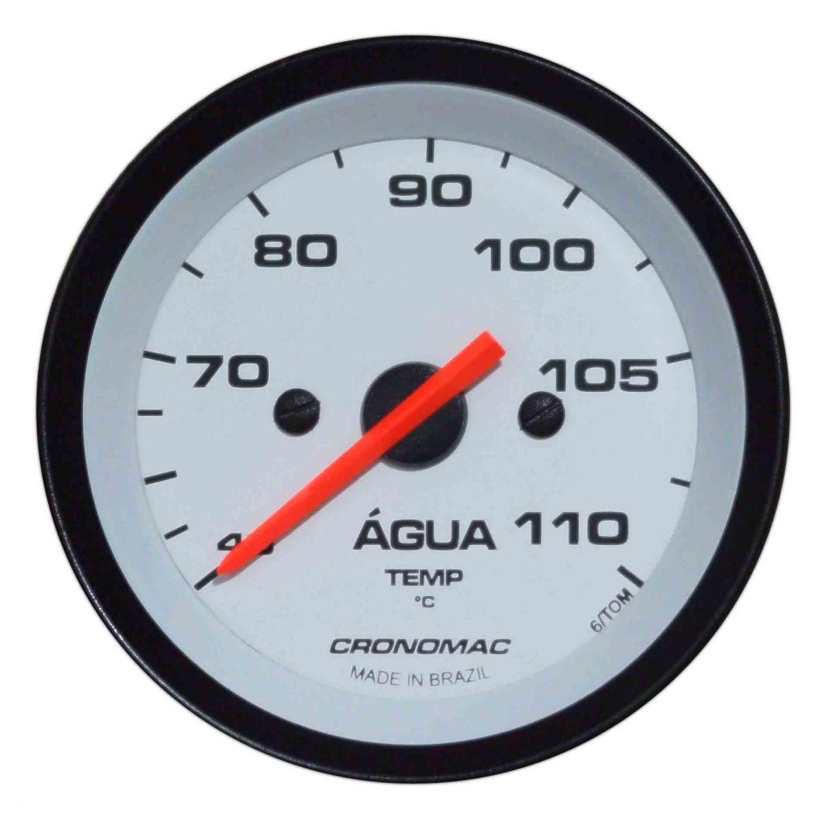 Termômetro/Àgua/52mm/Mec./Street