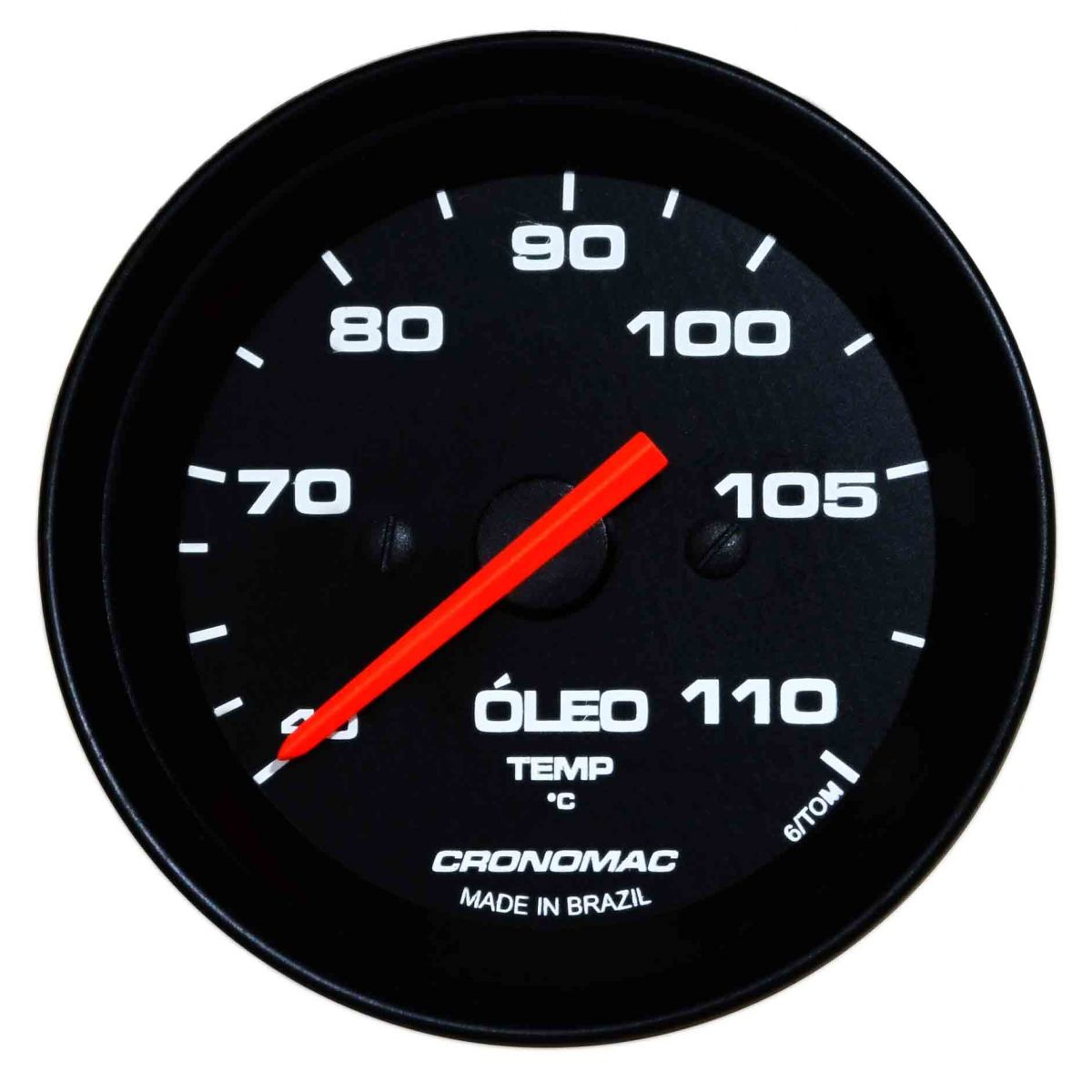 Termômetro/Óleo/52mm/Mec./Street