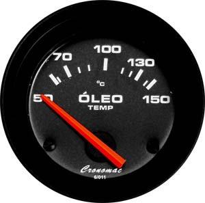 Termômetro/Óleo/52mm/Elétr./Street