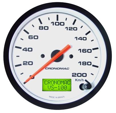 Velocímetro /100mm/160Kmh/Elétr./Street