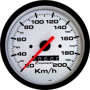 Velocímetro /85mm/200Kmh/Mec./Street