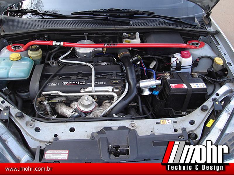 Barra Anti-torção Superior Dianteira Regulável - Ford Focus