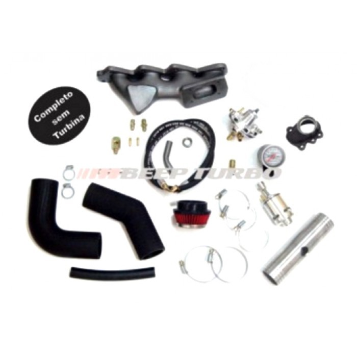 Kit turbo VW - EA111 - 1.6 Transversal Gol Golf G5 G6 S/T