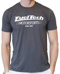 Camiseta Cinza Chumbo FuelTech Unissex