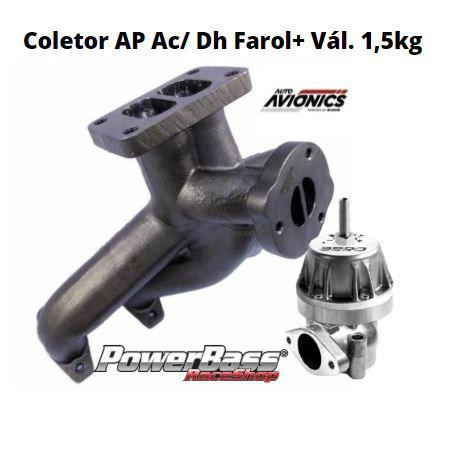 Coletor Pulsativo AP Ac/ Dh Farol + Vál. 1,5kg