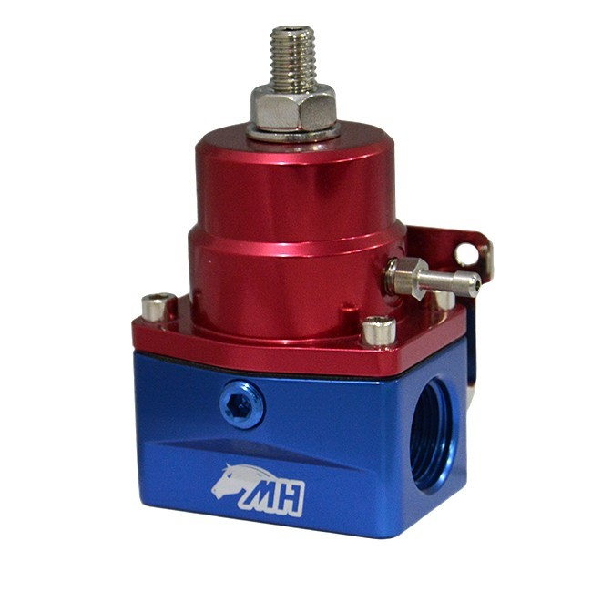 Dosador de Combustível 1:1 para Motores Injetados Entrada e Saída 10AN / AN10 Retorno 6AN / AN6