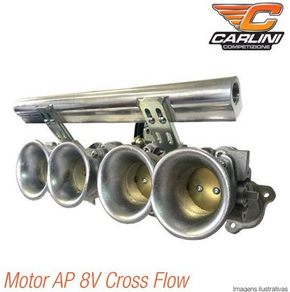 Kit Admissão Ap 8v Cross Flow