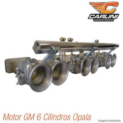 Kit Admissão Gm 6 cilindros Opala