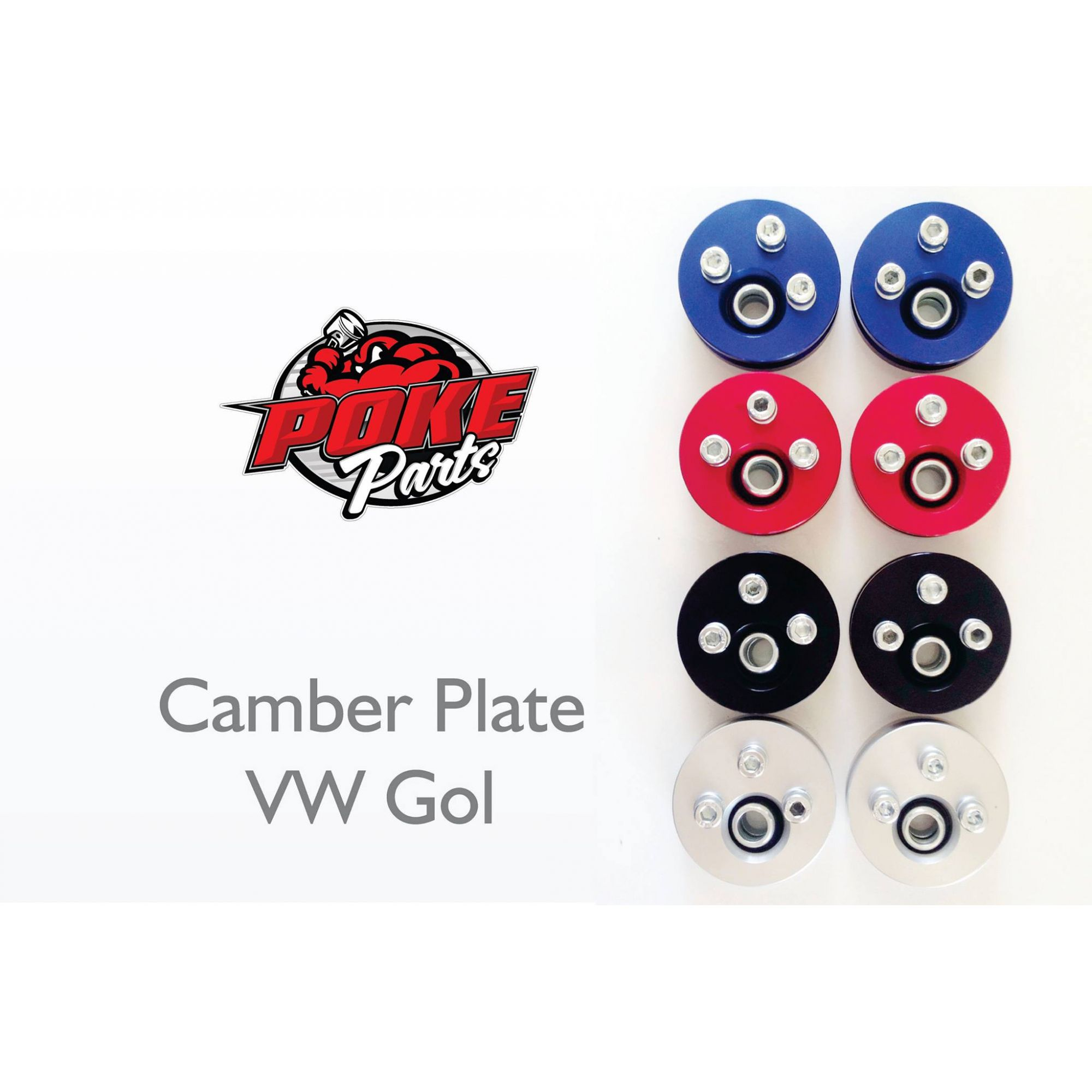 Kit Camber Plate Vw