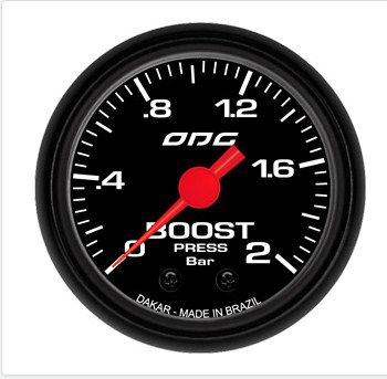 Manômetro Dakar Boost 2 BAR 52 mm