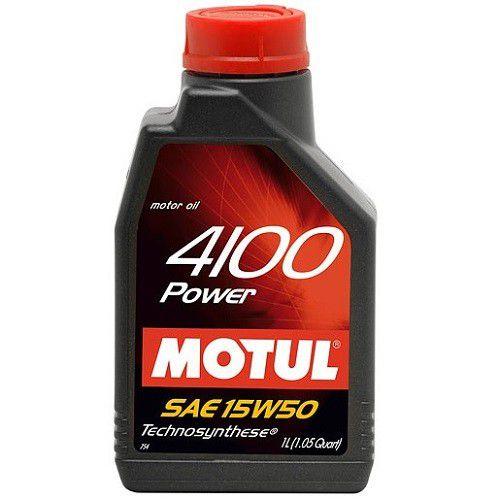 Óleo Motul 4100 / 15W50 - 1L