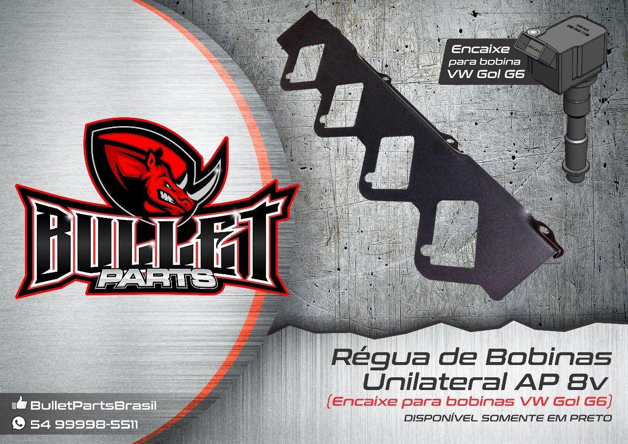 Régua de Bobinas AP unilateral FIAT/ AUDI/ VW/  - BULLET