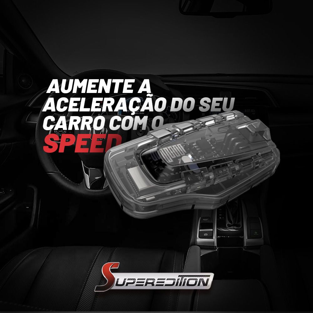 Speed Chip Potencia Gas Pedal Superedition