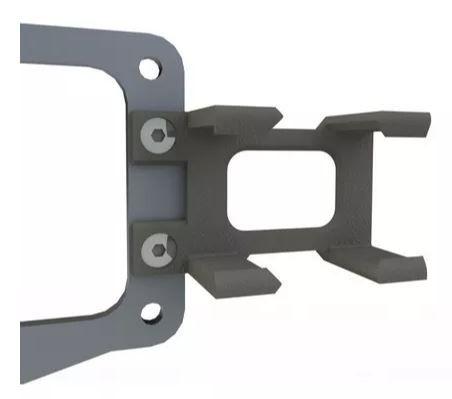 Suportes da linha FuelTech Nano - Imaginar 3D