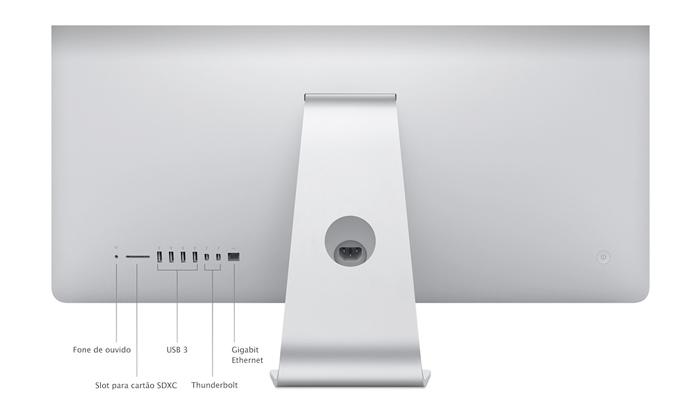 Apple iMac MF883 - Intel Core i5, Memória de 8GB, HD 500GB, Tela 21.5