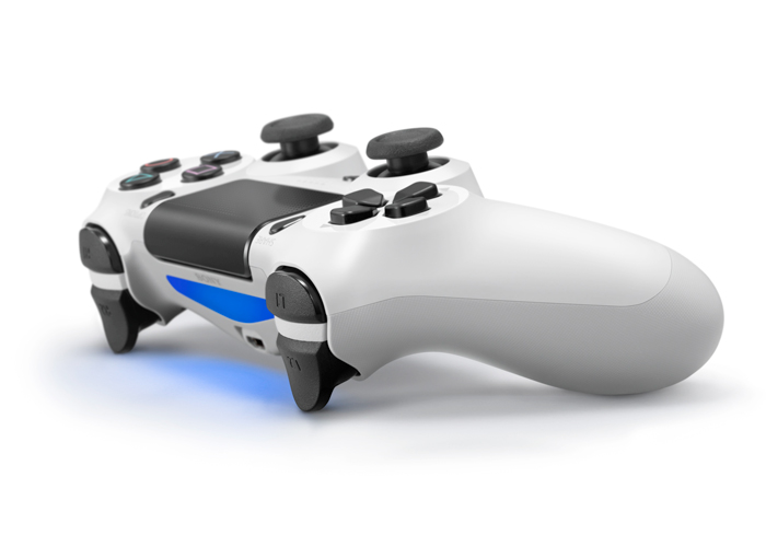 Controle Playstation 4 sem fio DualShock 4 - Branco - PS4