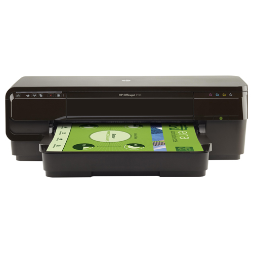 Impressora HP OfficeJet 7110 A3- Jato de Tinta, Memória 16MB, ePrint, Processador 500 Mhz, Velocidade de Impressão 33 ppm