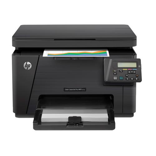 Impressora Multifuncional HP Color LaserJet Pro MFP M176n - Memória de 128 MB, ePrint, Copiadora, Scanner *