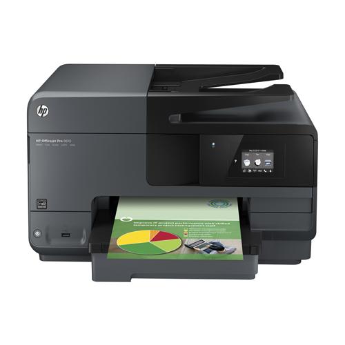 Impressora HP Multifuncional PRO 8610 - Jato de tinta, ePrint, Copiadora, Scanner, Fax, Wi-fi, Velocidade de Impressão 31ppm