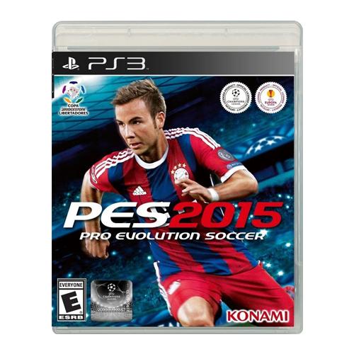 Jogo Pro Evolution Soccer (PES) 2015 - PS3