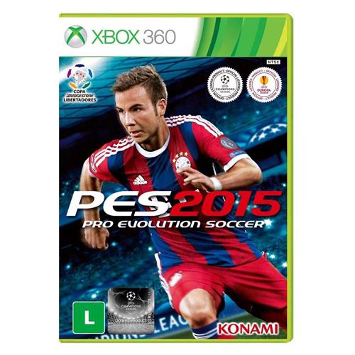 Jogo Pro Evolution Soccer (PES) 2015 - XBOX 360