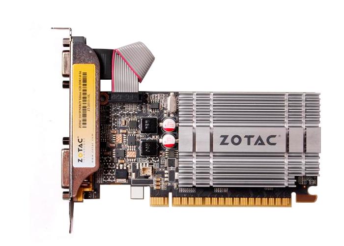 Placa de Vídeo Geforce GT210 - Mem. 1GB GDDR-3, Processador Cuda Cores 16, Clock 520 MHz, HDMI, VGA, DVI *