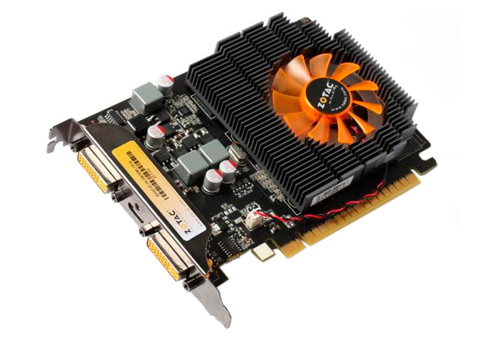 Placa de Vídeo Geforce GT730 - Mem. 1GB GDDR-3, Processador Cuda Dual 96, Clock 700 MHz, DVI, MINI - HDMI