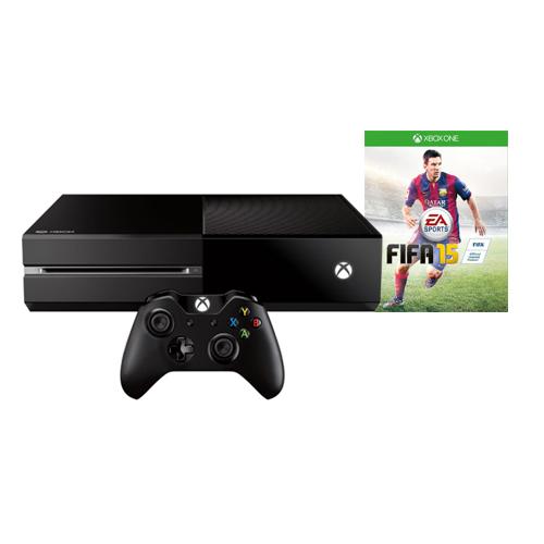 Console Xbox One Edição Exclusiva Fifa 15 - HD 500GB, Controle Wireless, Headset com fio, Cabo HDMI, Leitor Blu-ray + Jogo Fifa 15