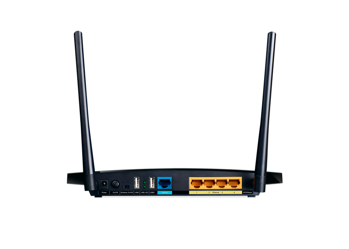 Roteador Wireless TP-Link N600 TL-WDR3600 - 2,4 GHz, Dual Band, 600Mbps, 2 USB, 2 Antenas, 4 Portas Ethernet *
