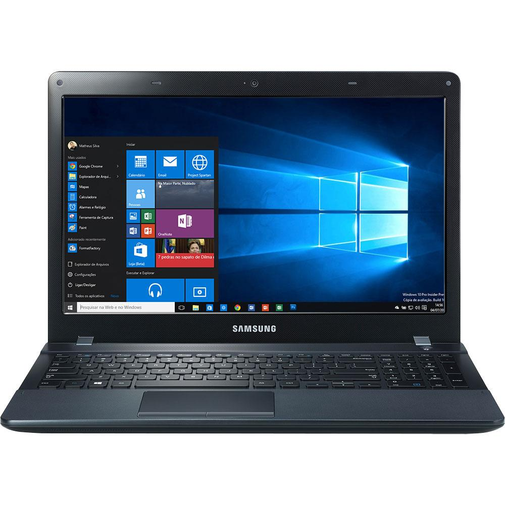 Notebook samsung com teclado numerico -  Notebook Samsung Essentials E33 Np270e5k Kw1br Intel Core I3 4gb De Mem Ria