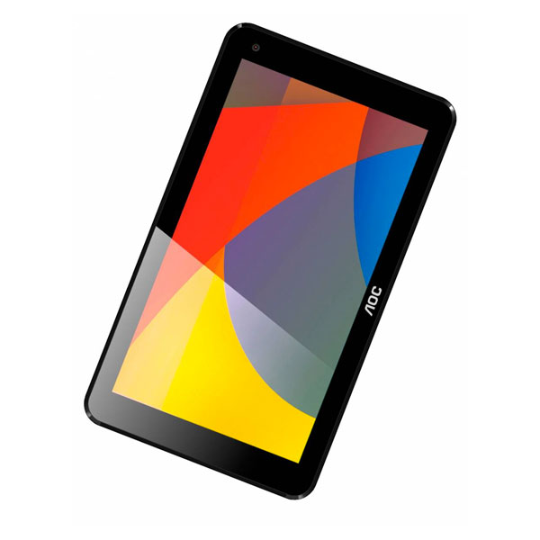 Tablet AOC - Android 6.0, Intel Quad Core, 8GB de memória, Wi-Fi, Bluetooth, Tela de 7