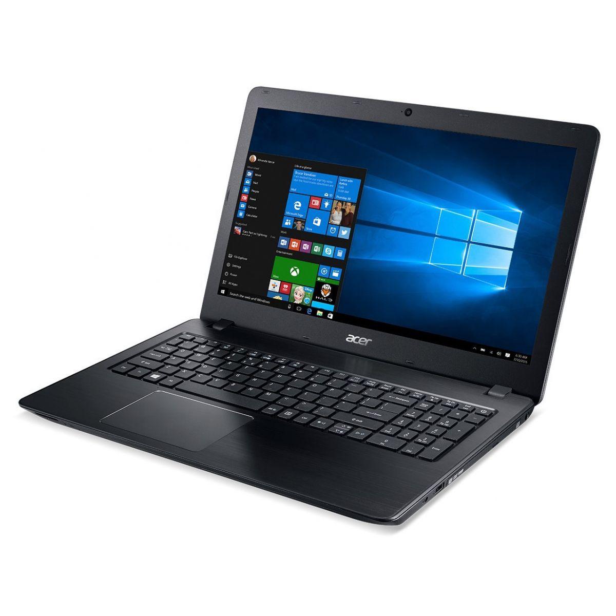 Notebook Acer com Intel Core i7 de 6ª Geração, 8GB de Memória, Wireless AC, HD de 1TB, Placa de vídeo NVIDIA GeForce 940MX com 4 GB, Tela Full HD de 15.6
