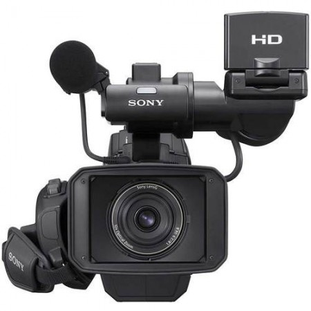 Filmadora Sony HXR-MC2000 - AVCHD, Sensor CMOS Exmor, Memória 64GB, Zoom Óptico 12x, Vídeo Full HD, Microfone externo, Tela 2.7