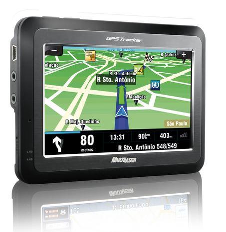 GPS Multilaser GP4110 - Tela Touch Screen 4.3 polegadas / USB 2.0 / Visualização 3D e noturno