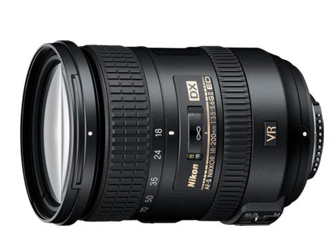 Lente Objetiva Nikon 18-200mm - F/3.5-5.6G ED VR II *