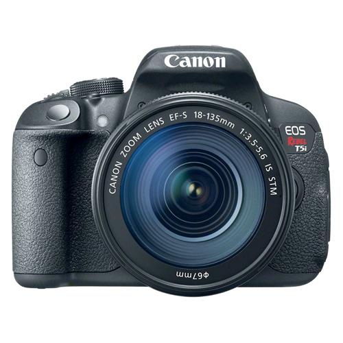 Câmera Digital Canon EOS Rebel T5i + Lente 18-135mm - 18MP, Sensor CMOS, Vídeo Full HD, DIGIC 5+, 5 FPS, Touchscreen, Tela Rotativa 3