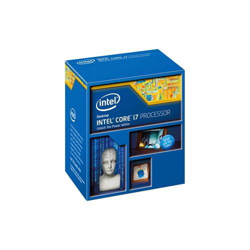 Processador Intel Core i7 4ª Geração 4790 - Velocidade 3.6 GHz, 4 núcleos, Cache 8MB,  Turbo Boost 2.0,  PCI Express 3.0 *