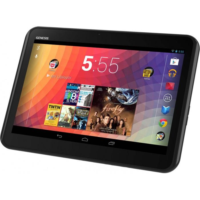 Tablet Genesis GT-1240 (Tela 10.1´, Android 4.1, 8GB, Dual Core 1.5Ghz, 1GB RAM, Wi-Fi, Bluetooth, USB, HDMI, 2 Câmeras, Compatível com Modem 3G)
