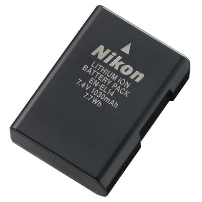 Bateria  EN-EL14 para camera NIKON D5100