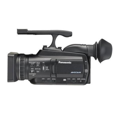 Filmadora Panasonic AGHMC-40PJ - 10.6MP, Sensor 3CCD, Vídeo em HD, Zoom Óptico12x, AVCHD, Tela de 2.7´