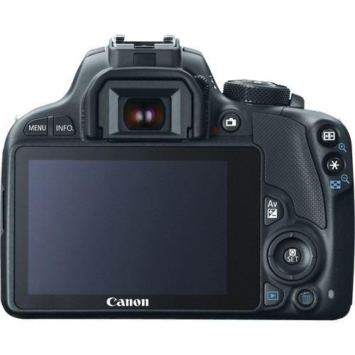 Câmera Digital Canon EOS Rebel SL1 Full HD + Lente 18-55mm - 18MP, Sensor CMOS, DIGIC 5, ISO de 100-12.800, HDMI, Tela de 3