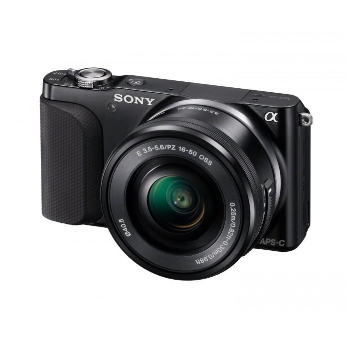 Câmera Digital Sony NEX-3NL - 16 MP / 16-50mm